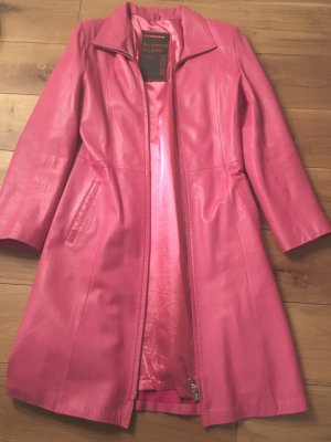Ledermantel Prada Gr. 36 wie neu in PINK