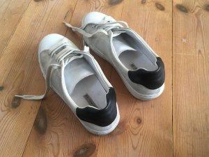 Ledermix-Sneaker