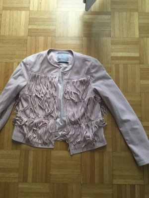 Faux Leather Jacket rose-gold-coloured imitation leather