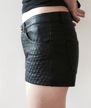 Lederoptik Shorts Zara
