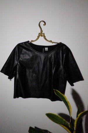 lederoptik t-shirt