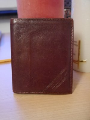 Wallet multicolored leather