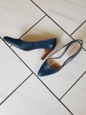 Lederpumps blau von Aerosoles