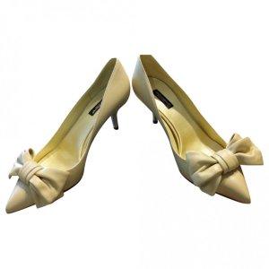 Lederpumps im Gelb Dolce & Gabbana NEU mit OVP