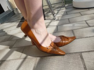 Belmondo Pumps sand brown-ocher