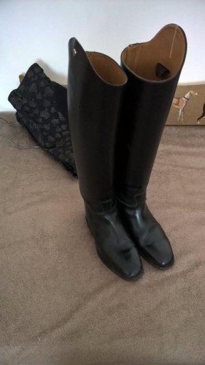 Botas de equitación negro Cuero