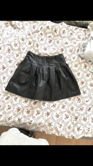 Mohito Leather Skirt black