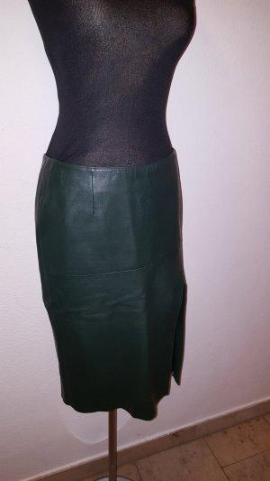 Sisley Falda de talle alto petróleo