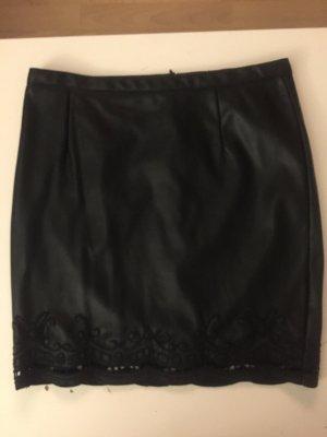 Amisu Mini-jupe noir