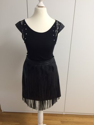 Hennes Collection by H&M Fringed Skirt black