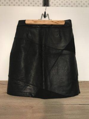 Desigual Leather Skirt black