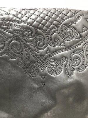 Lederrock von H&M, Größe 34, Muster, Minirock, schwarz