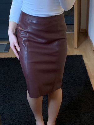 Warehouse Leather Skirt multicolored