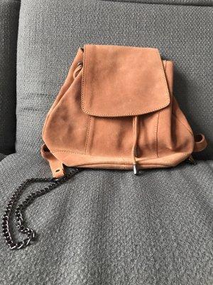Zign Backpack cognac-coloured