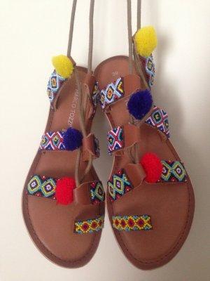 Marco Tozzi Romeinse sandalen veelkleurig