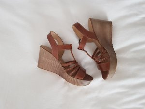 5th Avenue Wedge Sandals multicolored