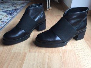COS Slip-on Booties black leather