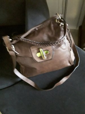 abro Shopper brown leather