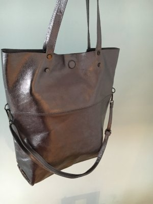 Vera Pelle Pouch Bag anthracite leather