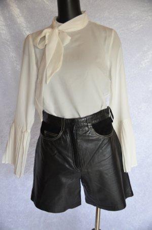 Ambiente Pantalone in pelle nero Pelle