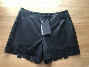 Muubaa Shorts black leather