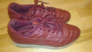 Ledersneaker von Lacoste