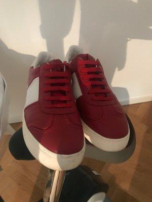 R.E.D. Valentino Sneaker stringata rosso scuro-bianco