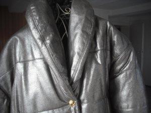 LederSteppjacke rustikal warm stylish gefuettert RV gold/bronze 40/42 wie neu