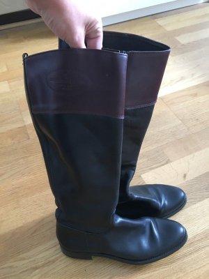 Dakota Jackboots black-brown leather