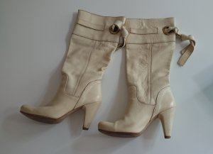 High Boots cream