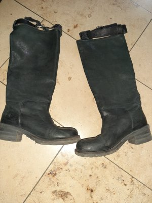 Miss Sixty Wide Calf Boots black