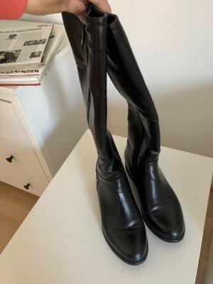 Lederstiefel, Hohe Overknee Stiefel