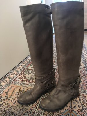Riding Boots green grey-khaki