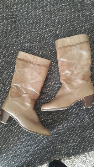 ara High Boots light brown-brown