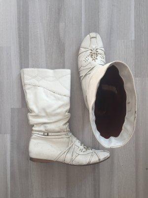 Lederstiefel +++ only buffalo Boots Rock chic mit Nietendetails von BRONX