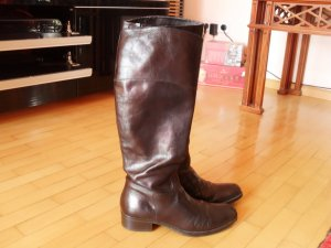 Esprit High Boots black leather