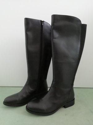 b.p.c. Bonprix Collection Botas estilo militar negro Cuero