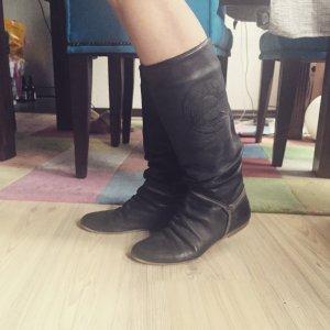 Lederstiefel * Tango Replay * Gothik Boots