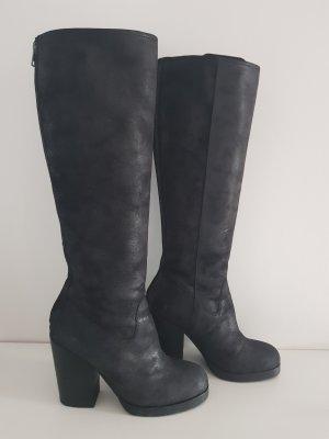 ASH Botas con tacón negro