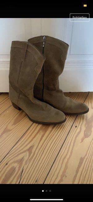 Mer du sud Western Boots ocher