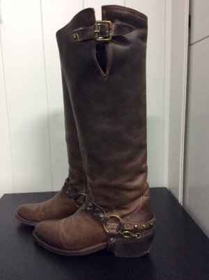 Sancho Western Boots bronze-colored-light brown
