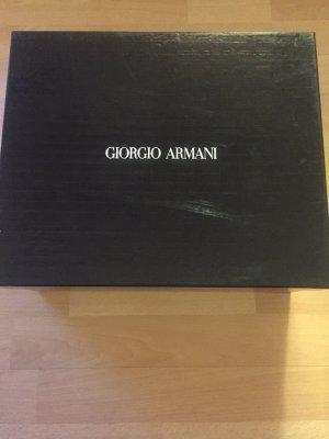 Lederstiefelette von Giorgio Armani