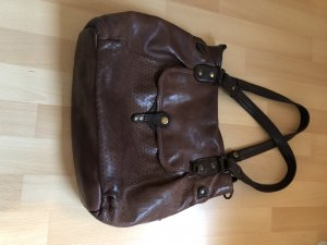 aunts & uncles Shoulder Bag dark brown-brown
