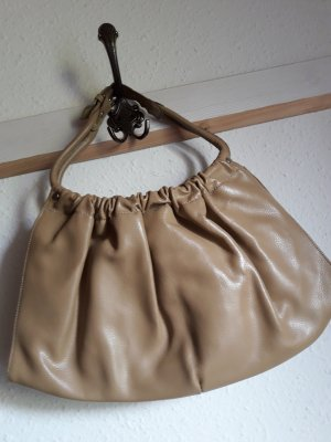 Apart Fashion Pouch Bag sand brown-oatmeal leather