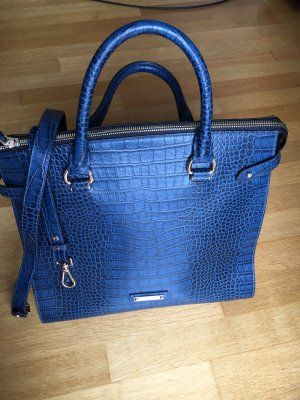 Muse Carry Bag blue leather