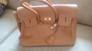 0039 Italy Handbag brown-cognac-coloured