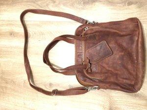Ledertasche Cowboysbag braun