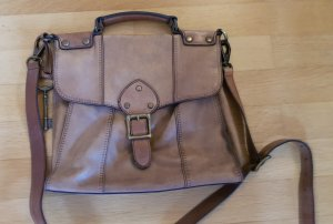 Fossil Handbag light brown