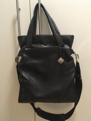 Samsonite Business Bag black-silver-colored leather