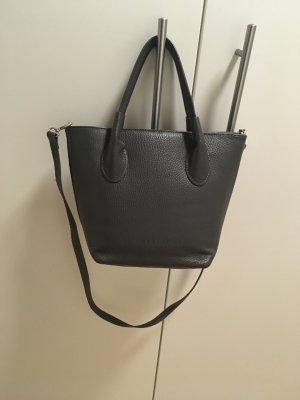 Ledertasche Handtasche grau Varese